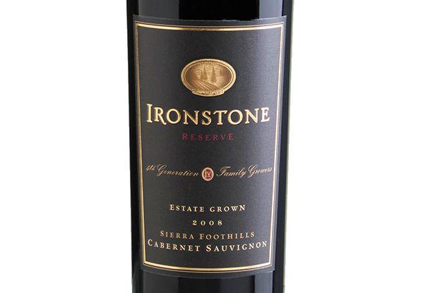Ironstone Reserva Cabernet Sauvignon 2008 Tinto Cabernet Sauvignon, Cabernet Franc e Merlot. Estados Unidos